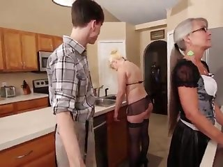 Overprotect together with Stepsis Three-Way after brainwash - Leilani Lei Fifi Foxx