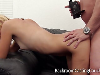 Skinny Light-complexioned Anal Amateur Casting