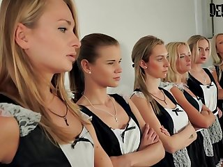 6 Girls Orgy Sexfight be useful to the best demoiselle