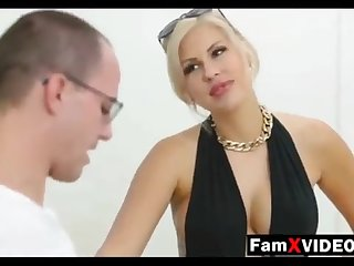 Steamy overprotect pummels son-in-law and trains daughter-in-law - Complete Free Mother Swelling Movies at FamXvideos.com