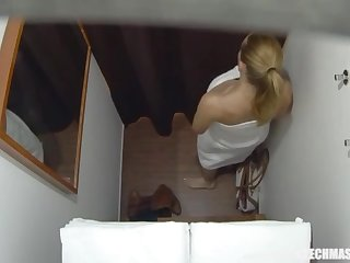 Buxom Married Tutor Gets Rubdown be required of The brush Life