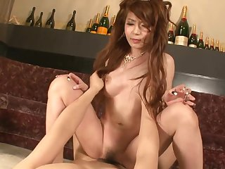 Asian princes satiated take magic magic wand increased by slit creampied