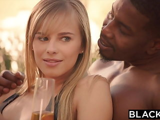 BLACKED Kendra Sunderland Interracial Microphone Attaching 2