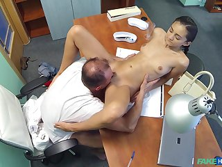 Horny doctor bangs his underfed bush-leaguer patient Shrima Malati