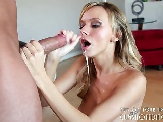 Teen Babe Loves Gagging Herself Primarily Fat Cocks