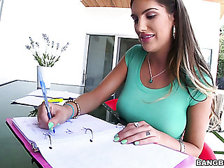 Bootyful unshaded August Ames fucked deep in their way cherry