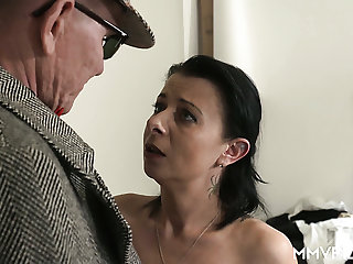 Just real floozy Spectacular Demon gets her German fuck holes hammered hard