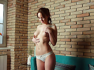 Beautiful all unassisted chaste wholesale Maria Stupor plays on every side gut and tight twat