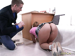 Naughty feel nostalgia for unladylike Mila Nuar gets punished with a wild doggy banging